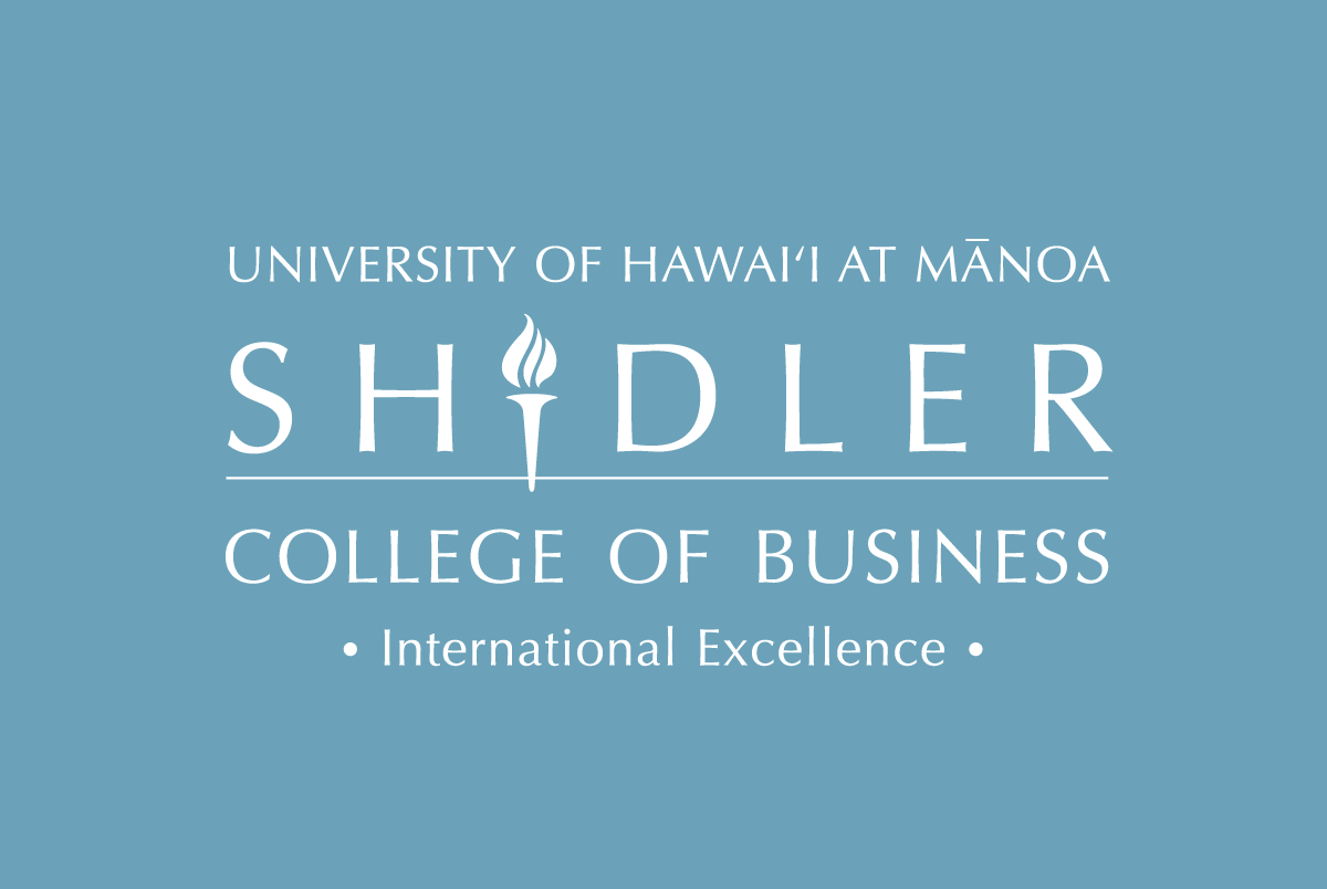 Shidler College of Business University of Hawaii