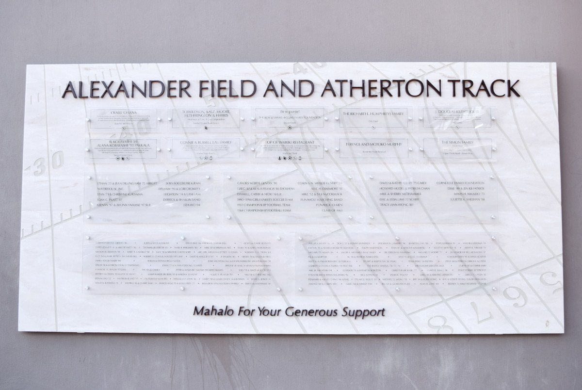 Alexander Field Signage & Display