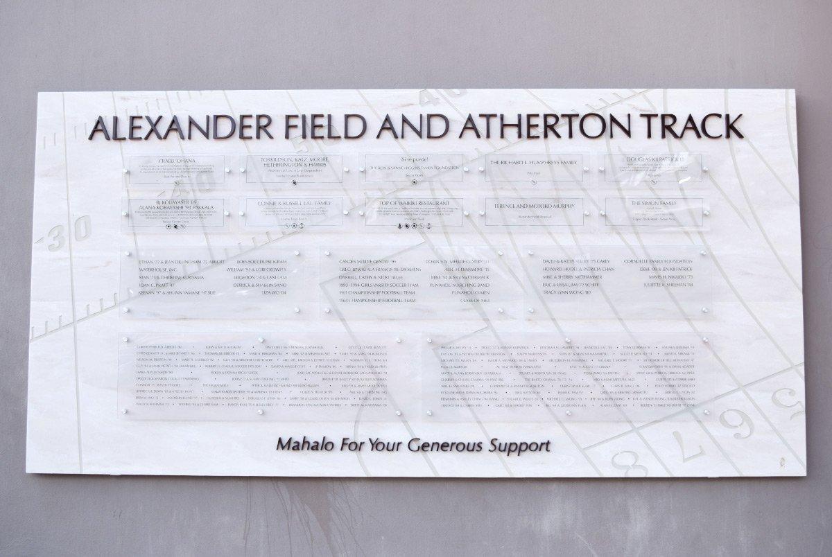 Alexander Field Signage & Display