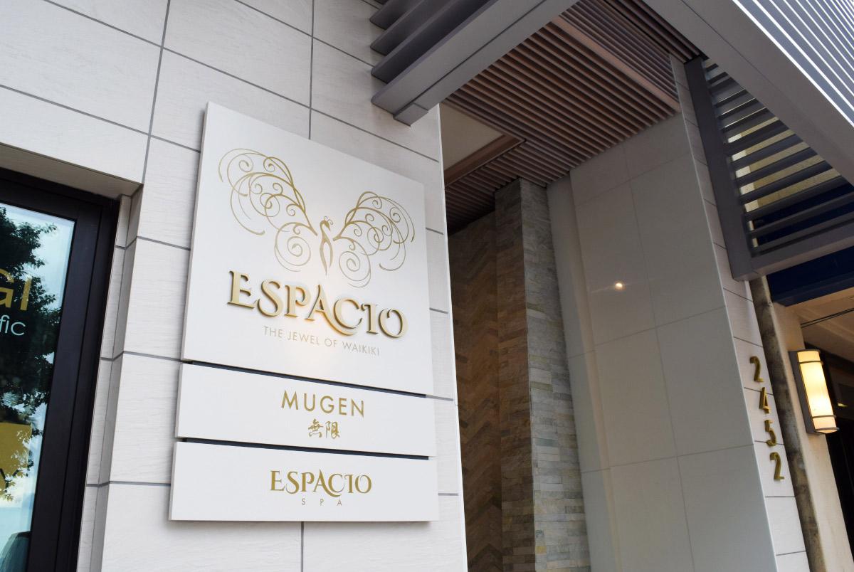 Espacio Hotel Signage