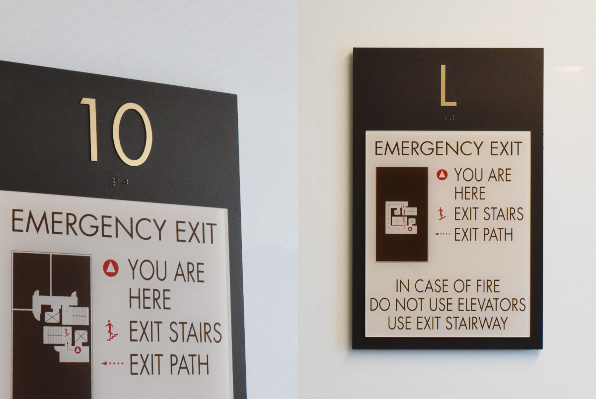 Wayfinding & Room Sign