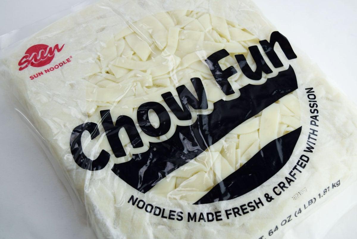 Sun Noodle Chow Fun Package 64oz 7