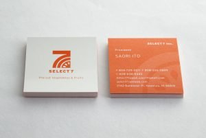 Select7 business cards
