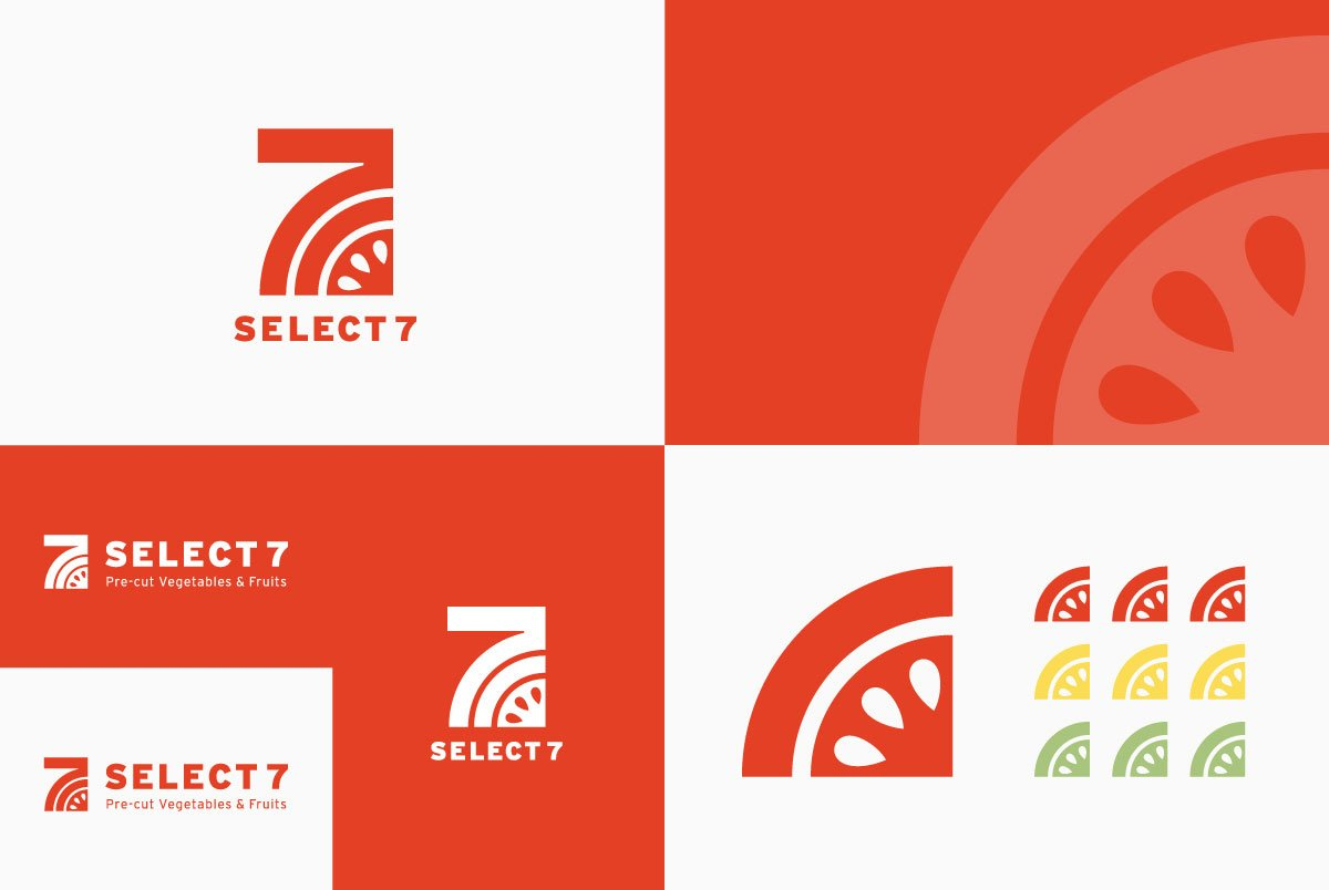 Select7 brand identity
