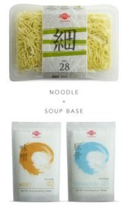 Sun Noodle brand noodle and soup base