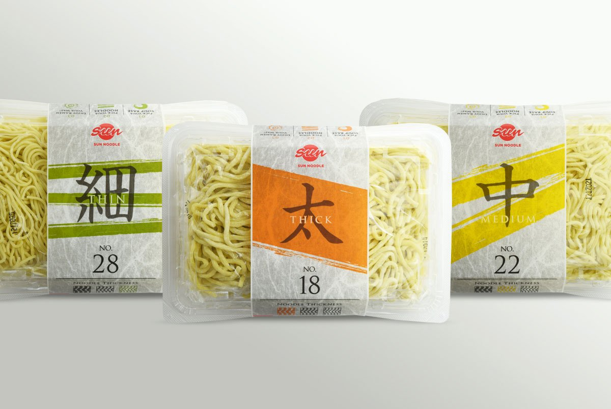 Sun Noodle packaging