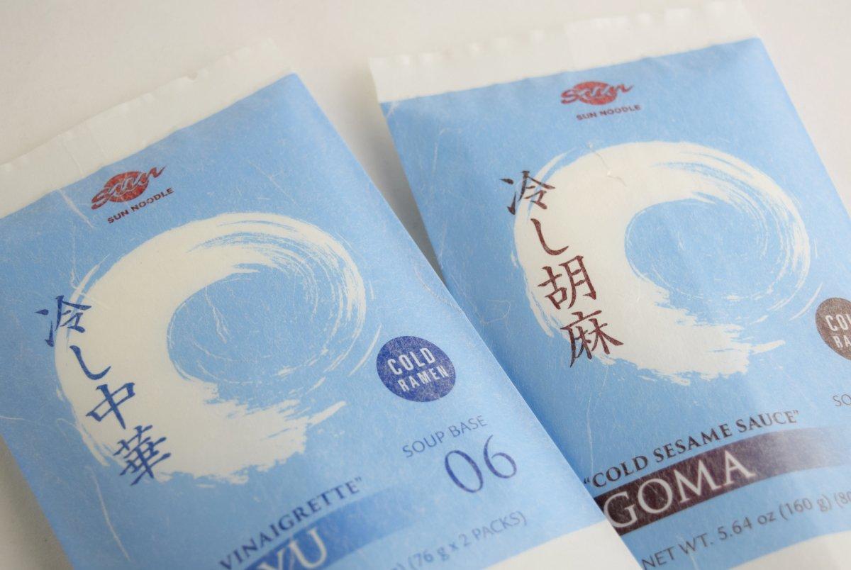 Sun Noodle packaging