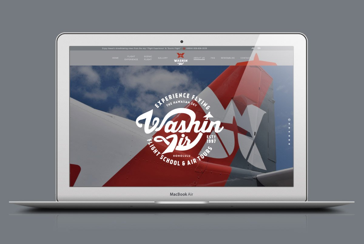 Washin Air Website