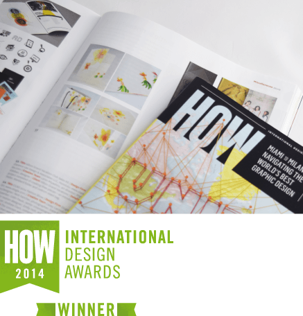 HOW International Design Awards 2014