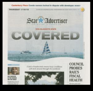 111-HAWAII PROJECT Star Advertiser