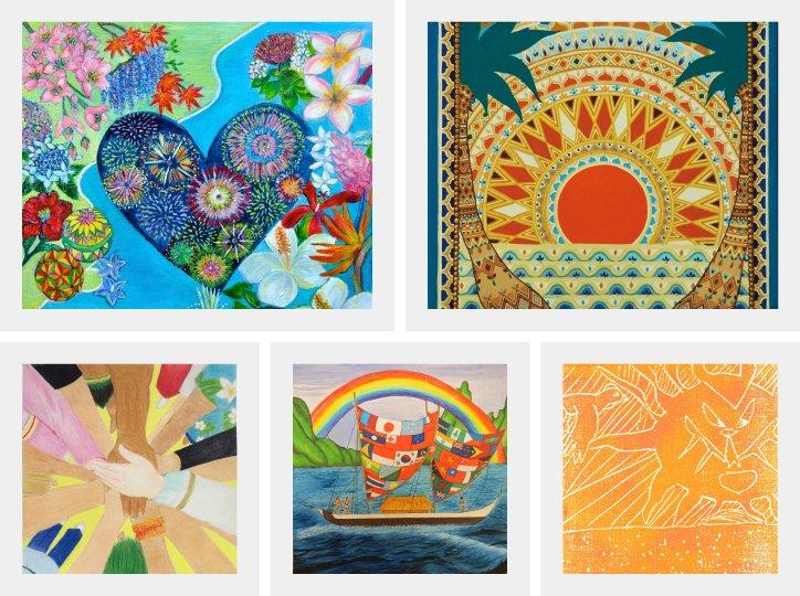 Honolulu Festival Art Contest