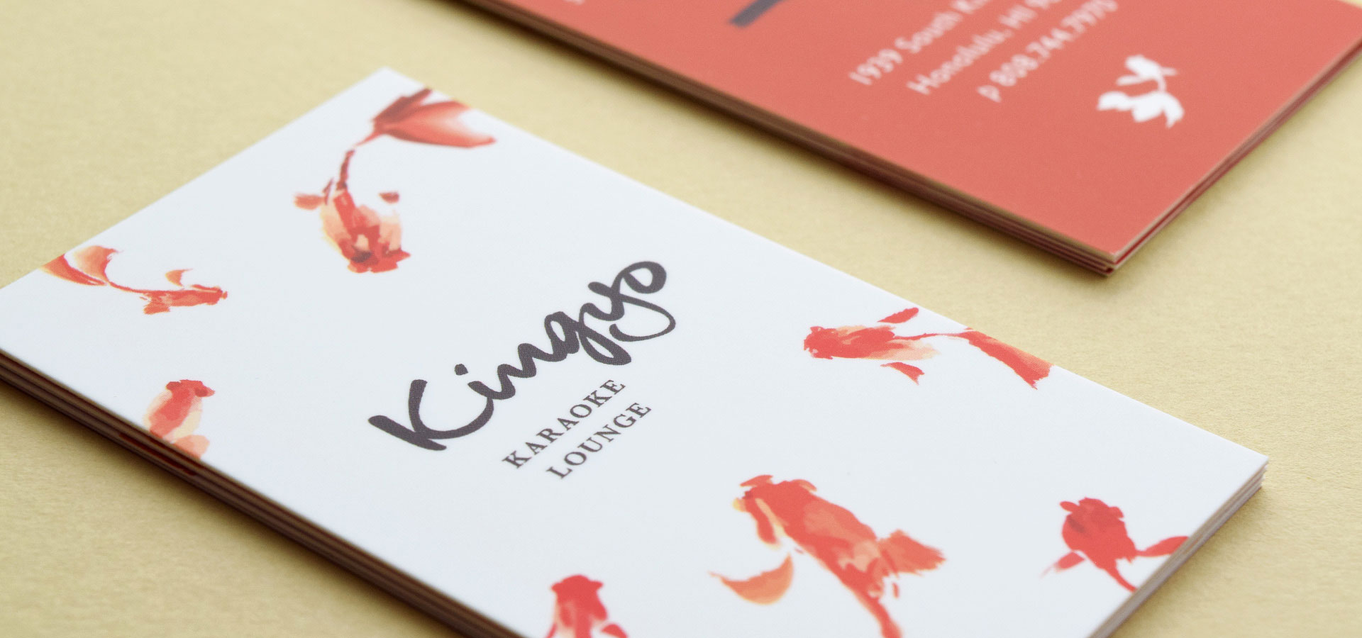 Kingyo Karaoke Bar Lounge Store Card