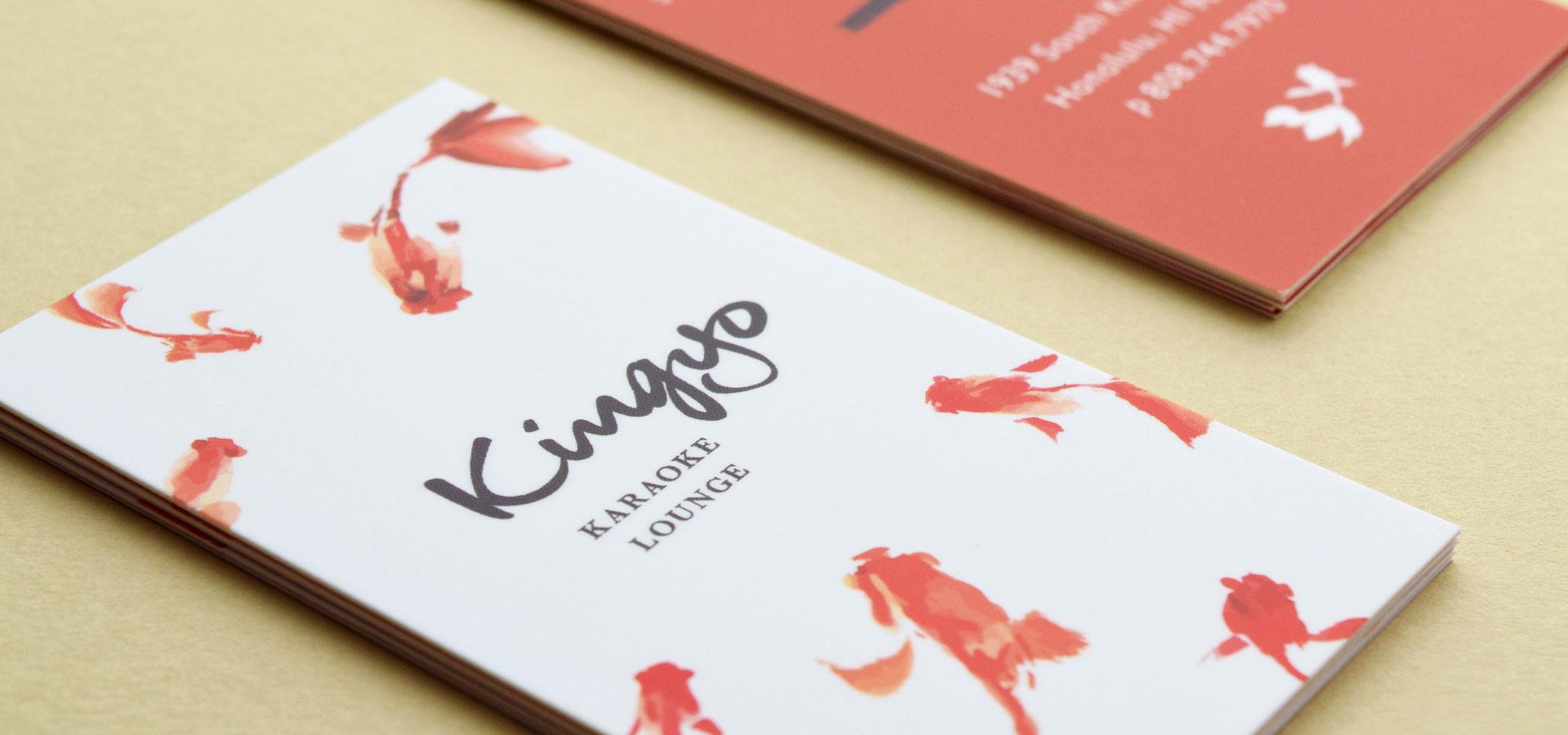 Kingyo Karaoke Bar Lounge Store Card
