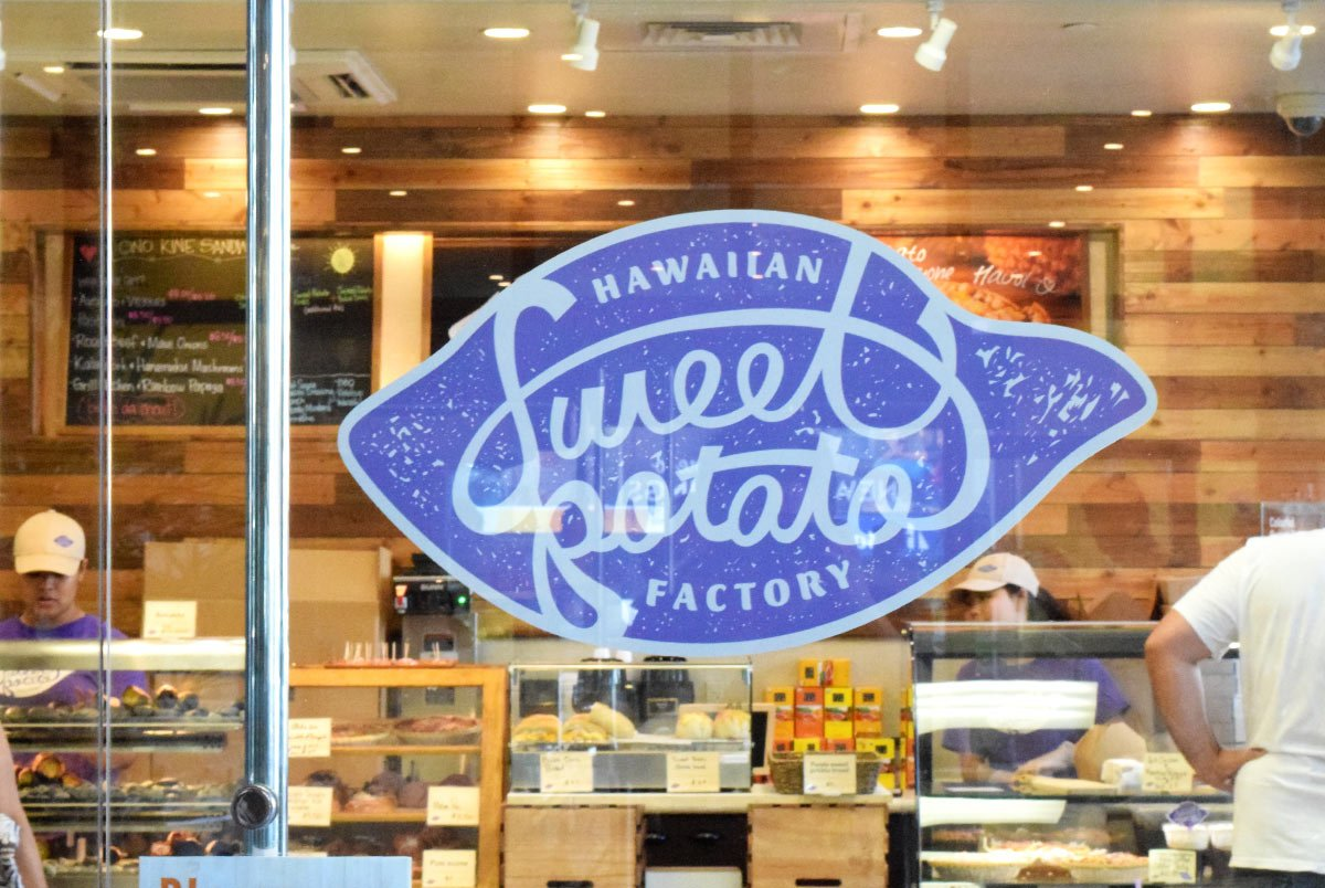 Hawaiian Sweet Potato Factory Decal