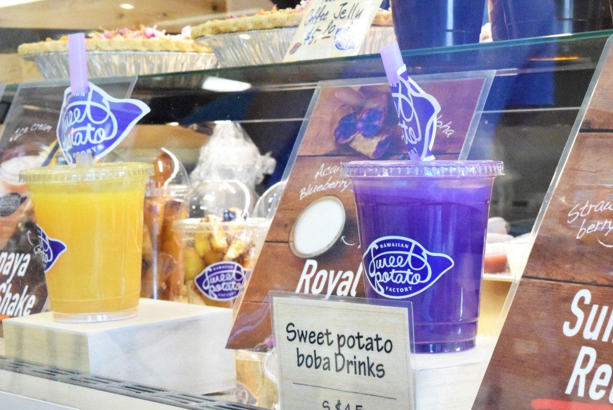 Hawaiian Sweet Potato Factory Cups