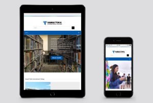 Tokai website on tablet and mobile