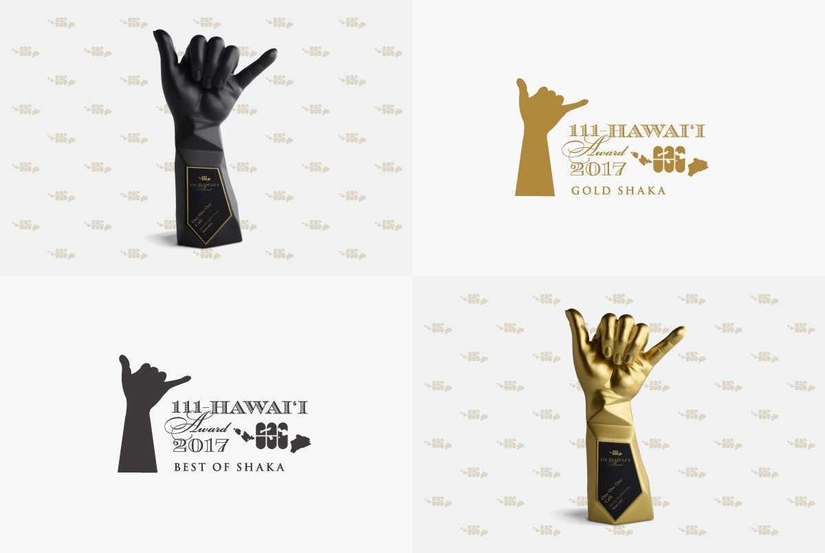 111-Hawaii Award Trophies