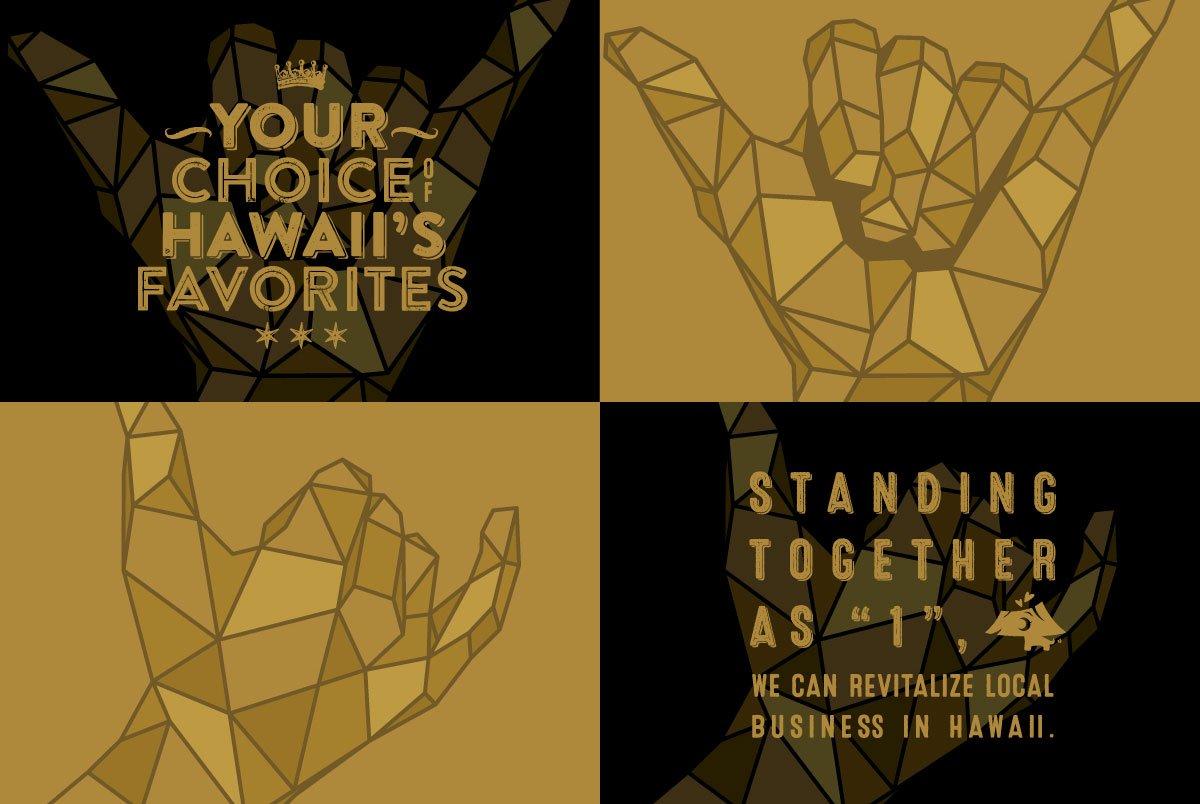 111-Hawaii Award Shaka Graphic & Tagline