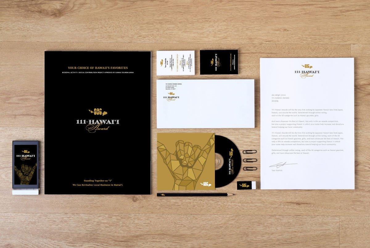 111-Hawaii Award Branding Collateral