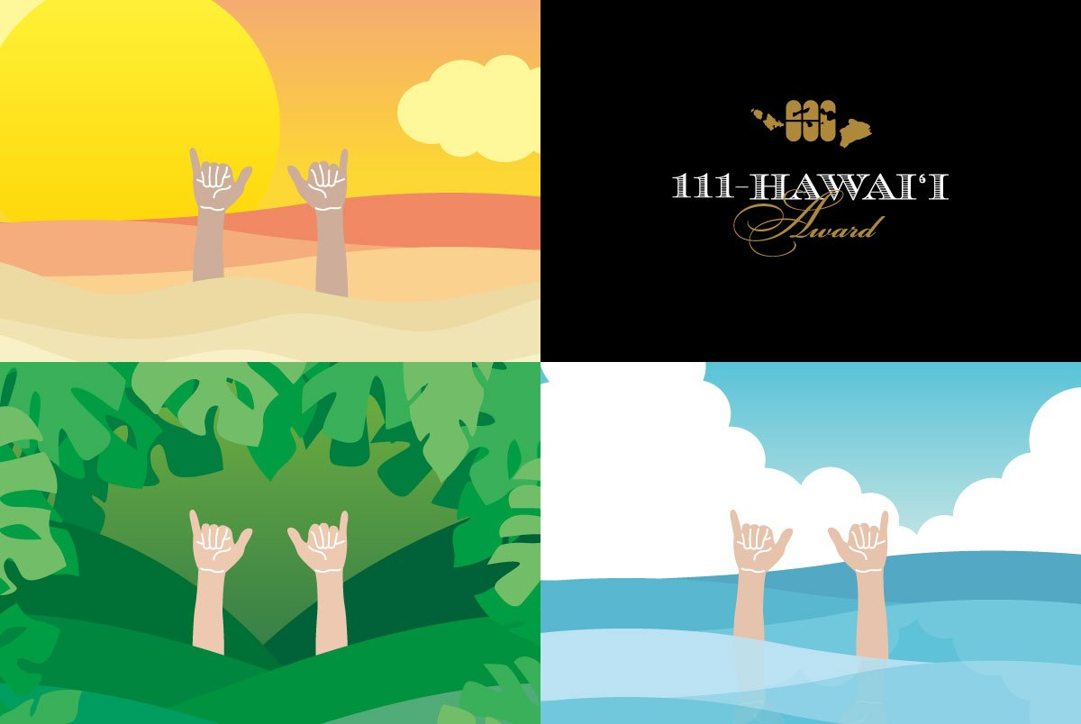 111-Hawaii Award Graphics
