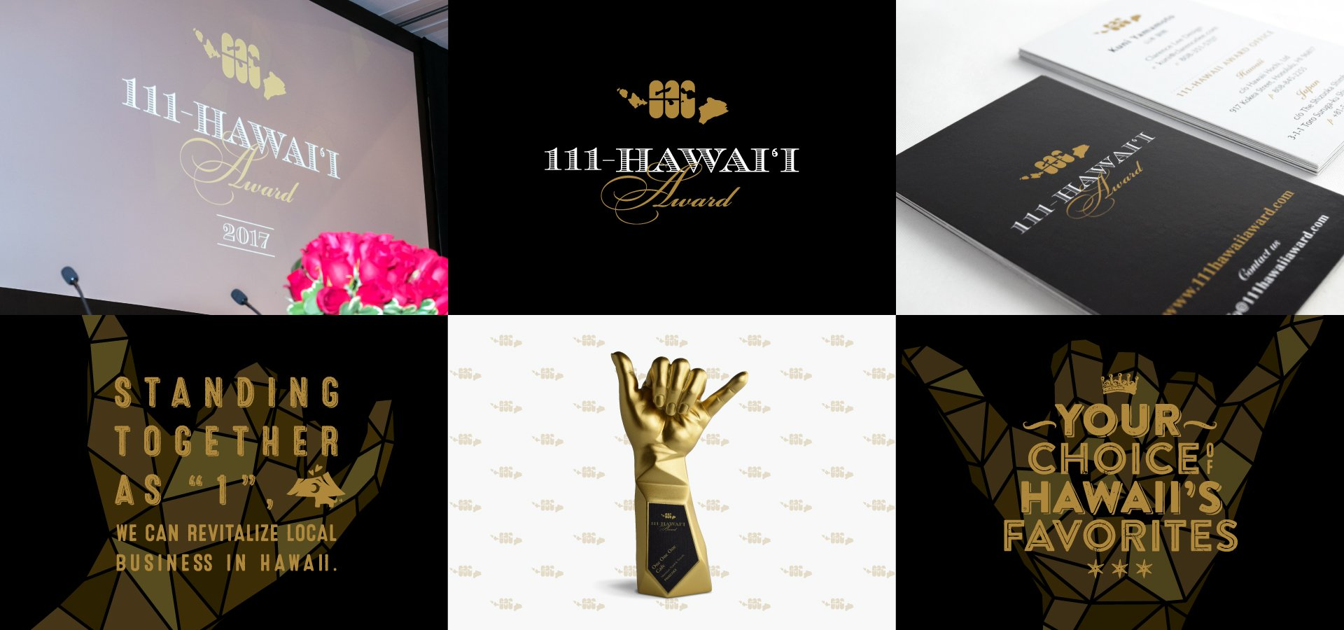 111-Hawaii Award Logo & Graphics