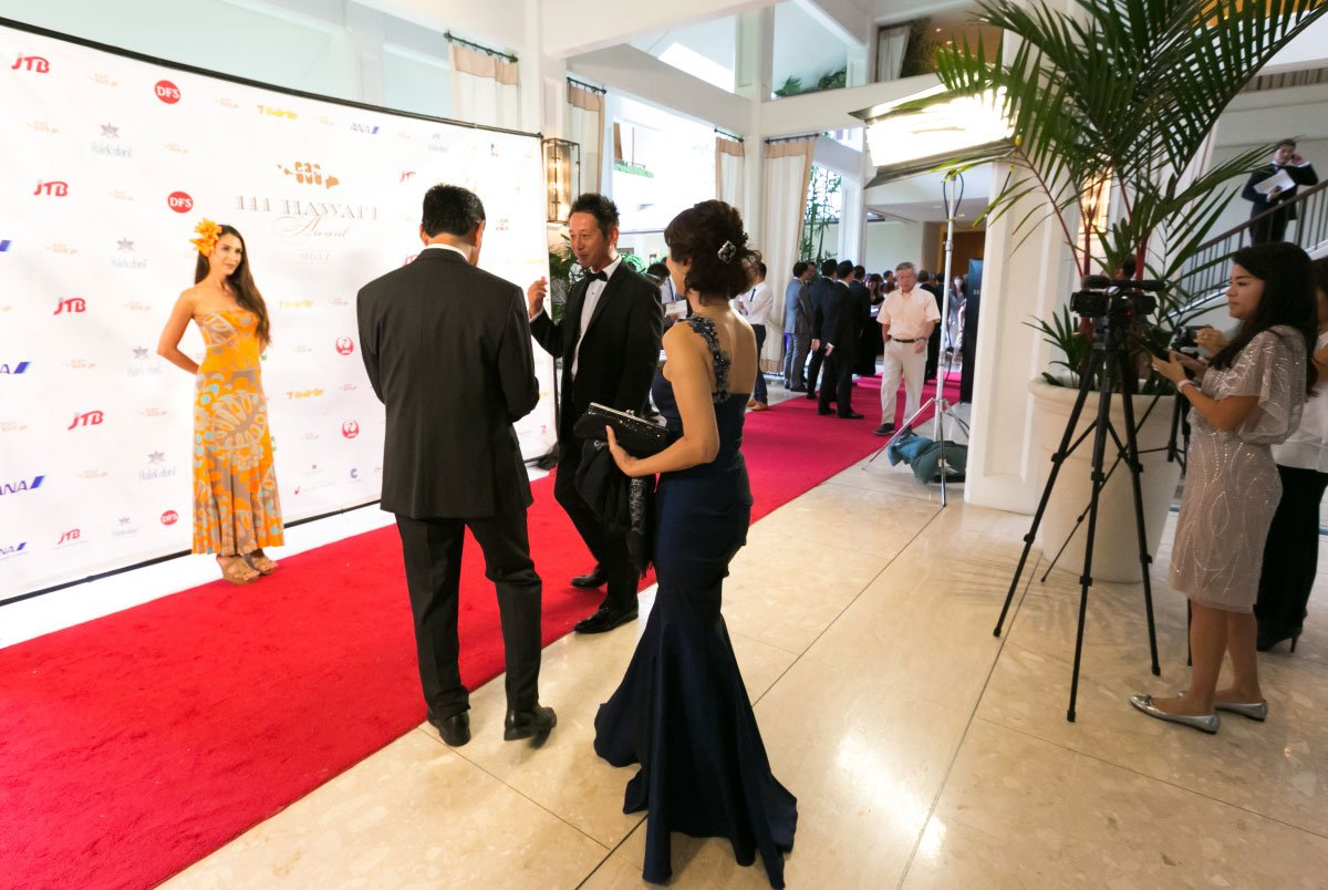 111-Hawaii Award Ceremony Red Carpet