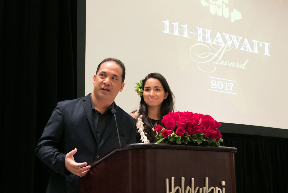 111-Hawaii Award Ceremony Hosts