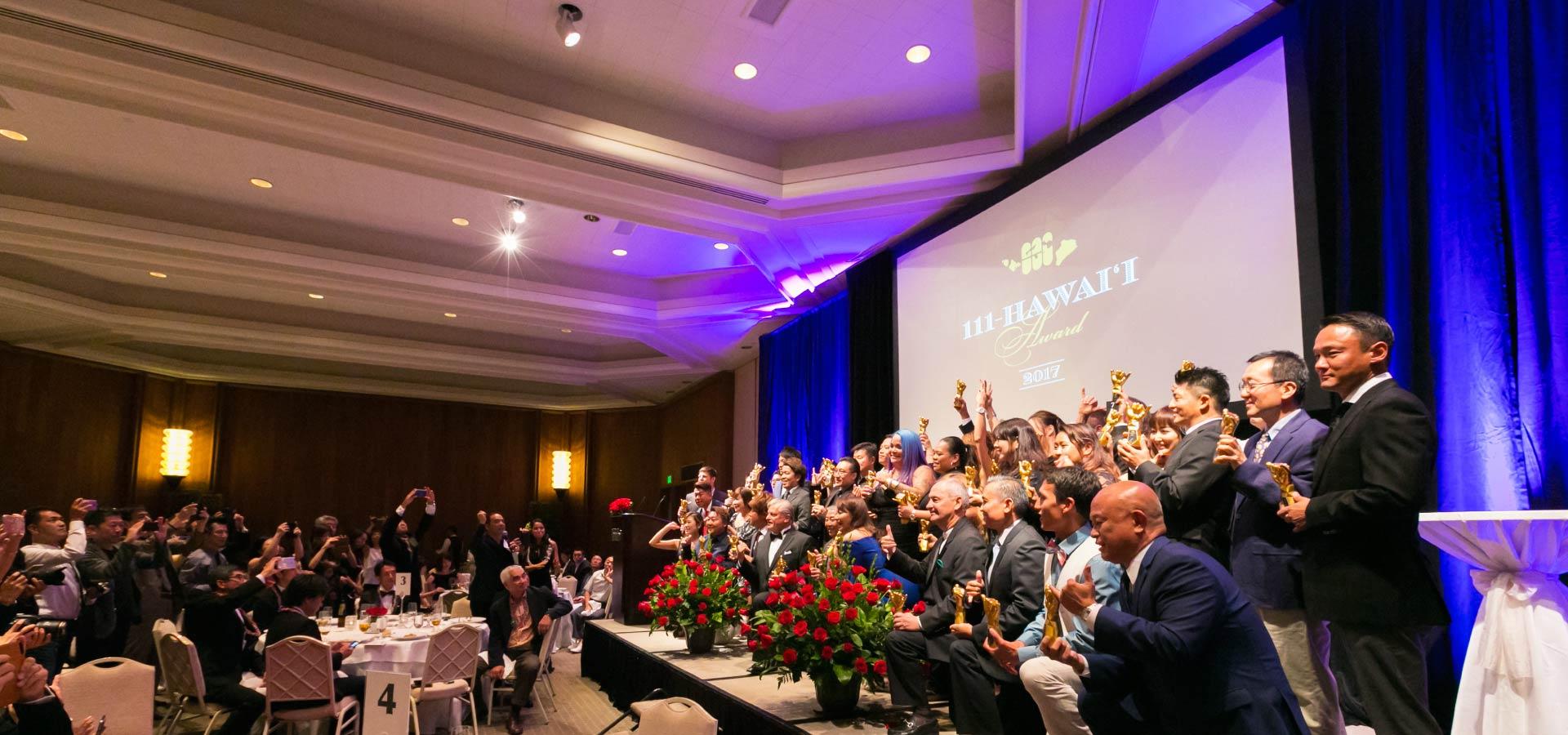 111-Hawaii Award Ceremony