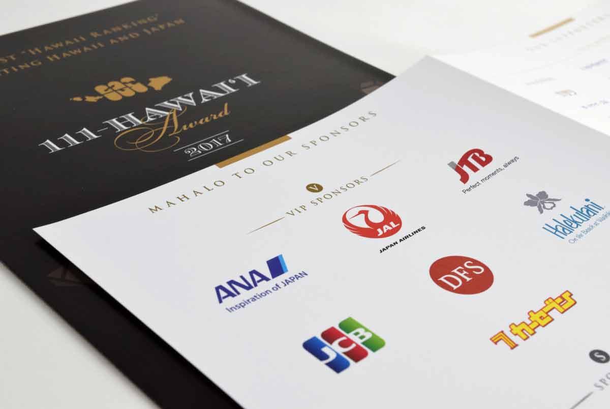111-Hawaii Award Pamphlet Closeup