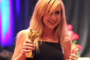 111-Hawaii Award Winner With Their Trophy