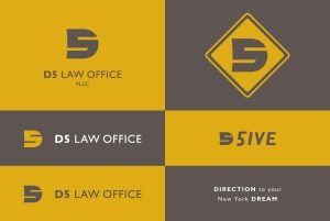 D5 Law Office Logo Variations