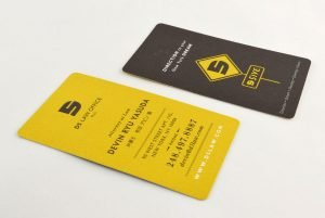D5 Law Office Business Cards Front & Back