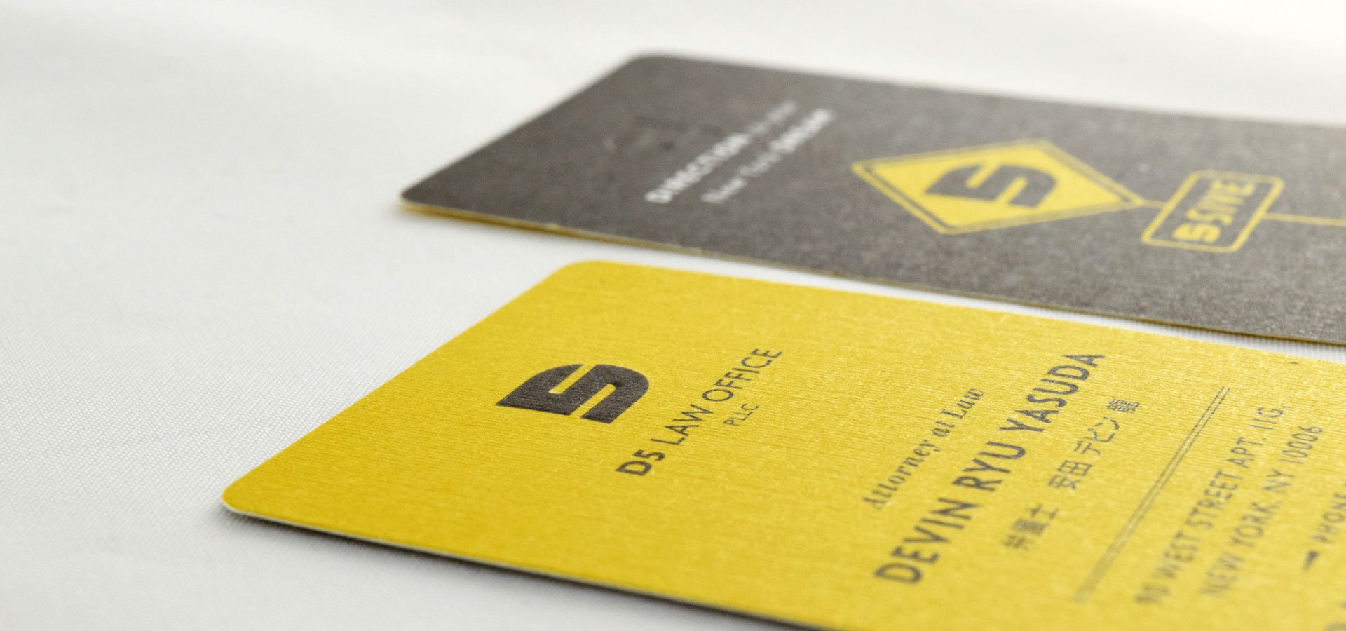 D5 Law Office Business Cards