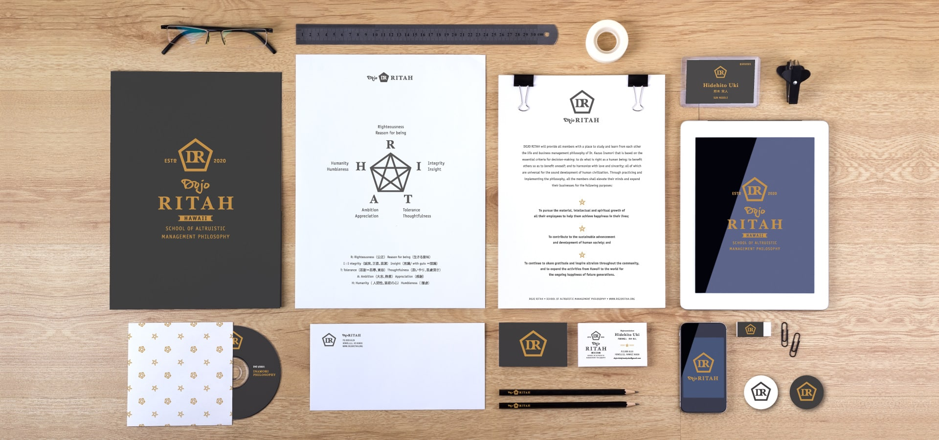 Brand Guidelines & Stationary