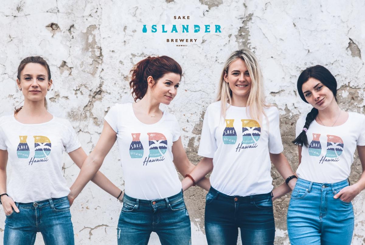 Islander Sake Logo T-shirts