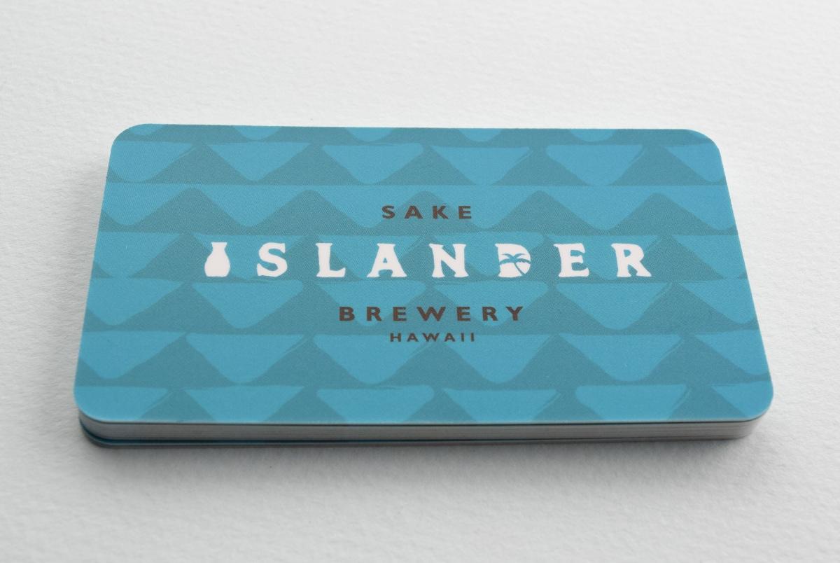 Islander Sake Print Collateral