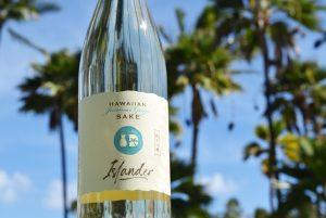 Islander Sake Label