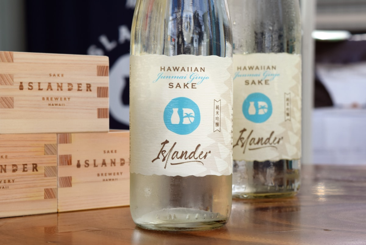 Islander Sake Label
