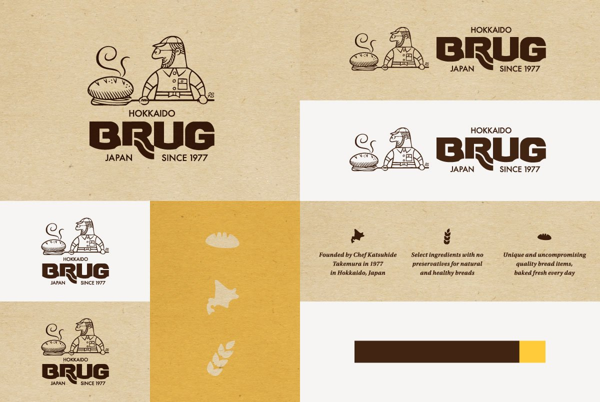 BRUG Logo Variations & Elements