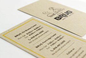 Brug Info Card