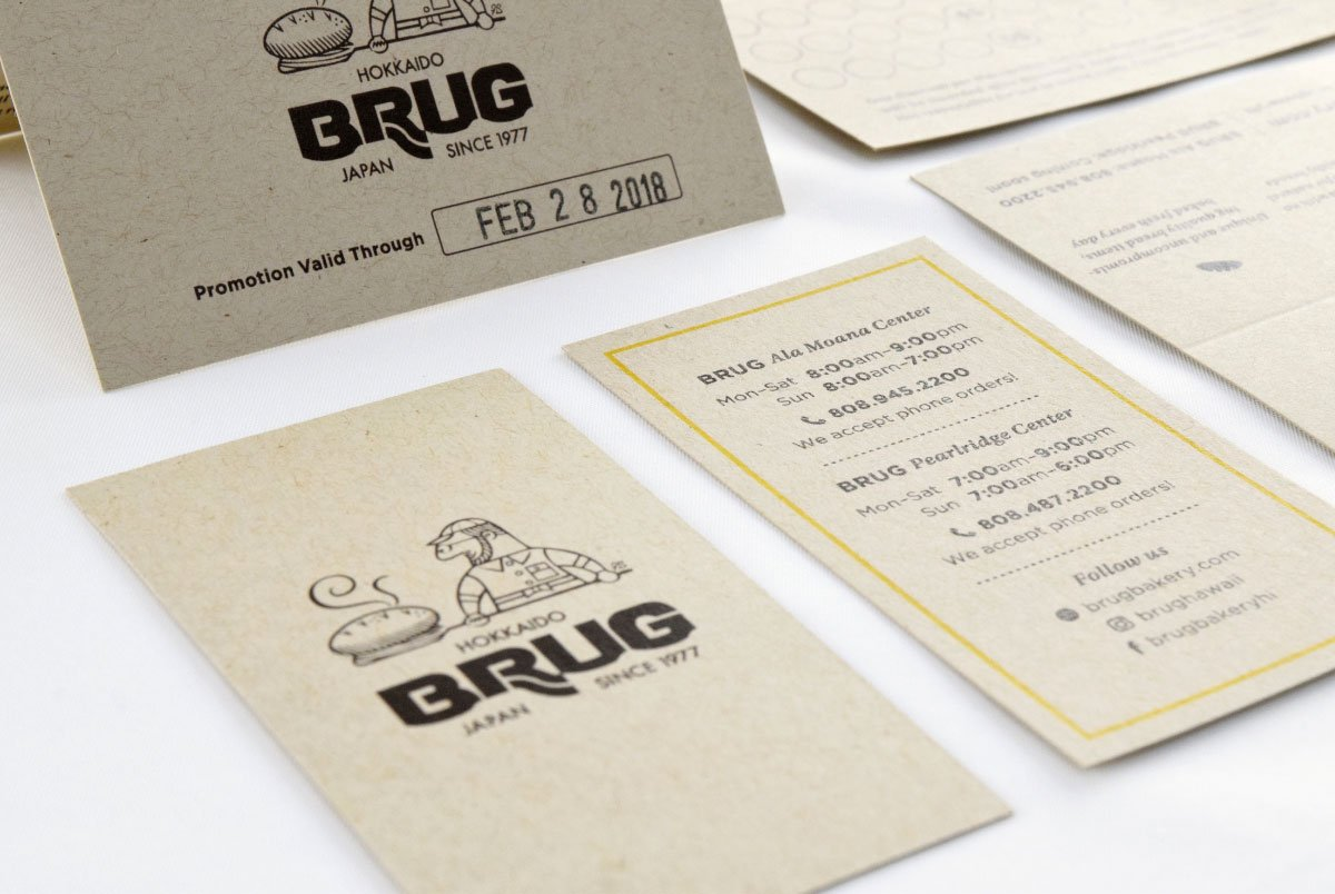 Brug Print Collateral