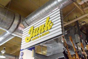 Junk Goods & Ends Sign