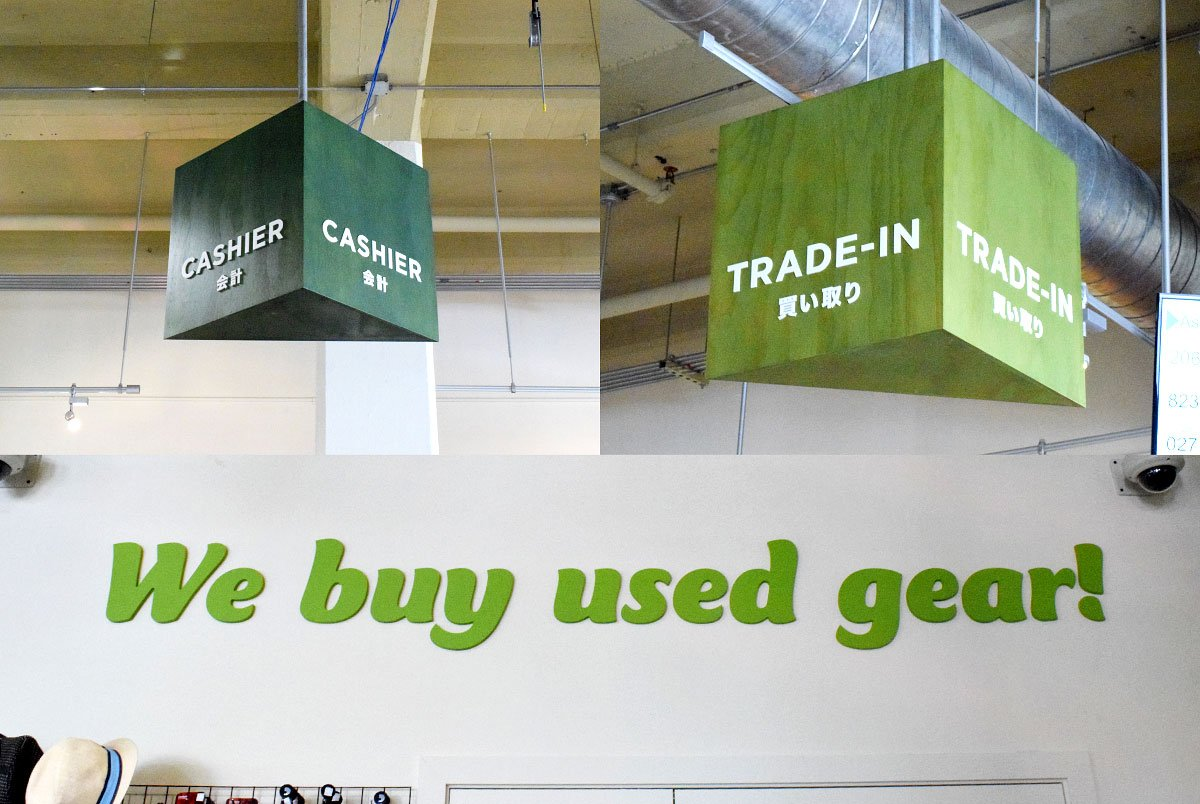Eco Town Store Signage