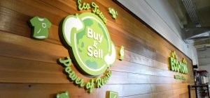 Eco Town Store Secondary Logo Signage