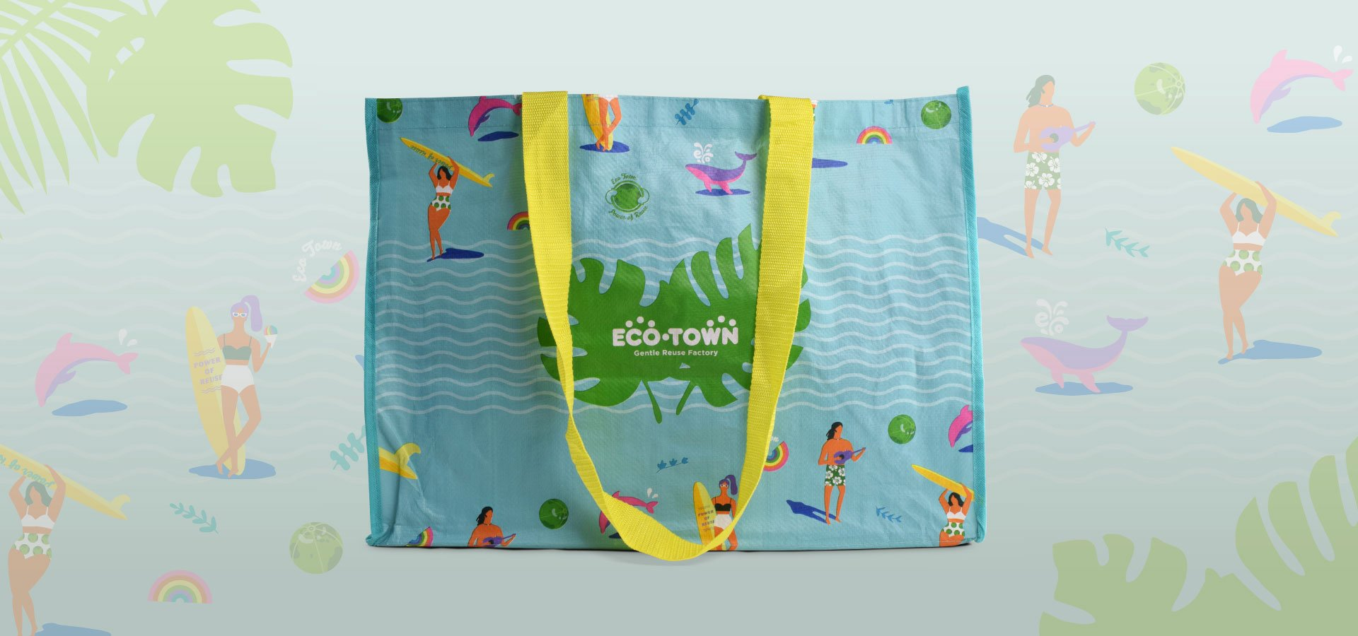 Eco Town Shopping Bag