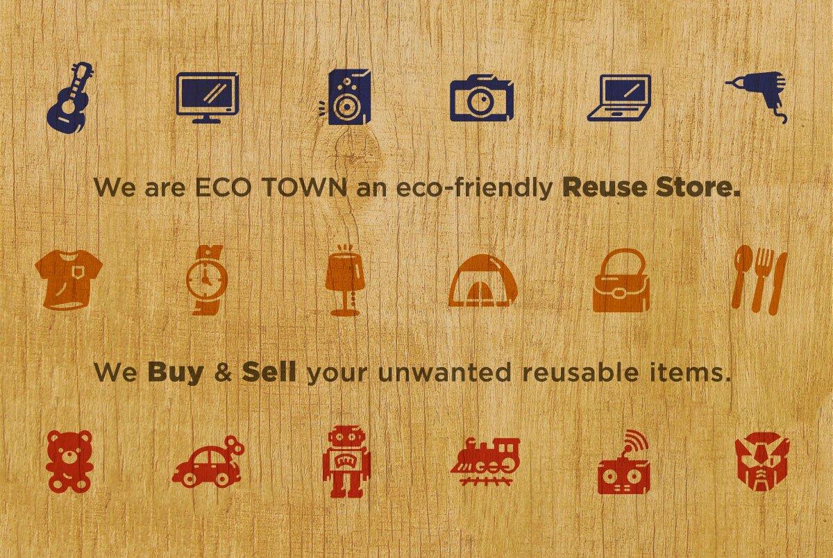 Eco Town Description Signage