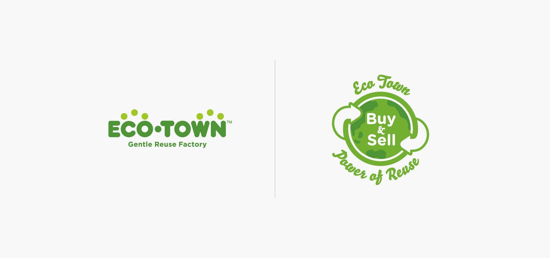 Eco Town Logos