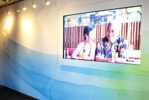 Grand Waikikian Sales Center Wall TV Panel