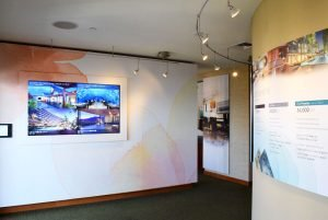 Grand Waikikian Sales Center Walls