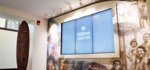 Hilton Grand Vacations Wall TV Panel